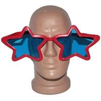 Pandoli Süperstar Yıldızlı Parti Gözlüğü Kırmızı Renk