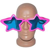 Pandoli Süperstar Yıldızlı Parti Gözlüğü Pembe Renk