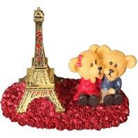 Pandoli Eyfel Kulesi Paris Aşıkları Biblo Süs