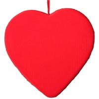 Pandoli Kırmızı Kalp Sarkıt Süs Strafor 35 Cm
