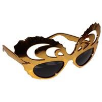 Pandoli Kral Adam Parti Gözlüğü Altın Renk