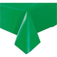 Pandoli Plastik Parti Masa Örtüsü Yeşil Renk