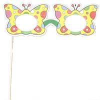 Pandoli Renkli Kelebek Gözlük Pankart