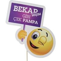 Pandoli Bekarmışım Gibi Çek Pampa Komik Konuşma Balonu