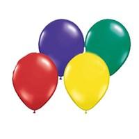 Pandoli Karışık Metalik Düz Renk Sedefli Latex Balon 25 Adet