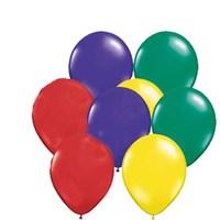 Pandoli Karışık Metalik Düz Renk 100 Adet Sedefli Latex Balon