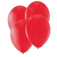 Pandoli Kırmızı Metalik Düz Renk Sedefli Latex Balon 25 Adet