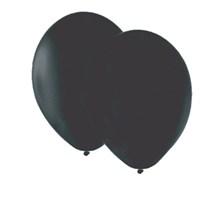 Pandoli 10 Adet Siyah Düz Renk Latex Balon