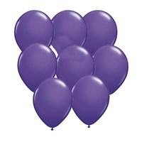 Pandoli Lila Metalik Düz Renk Sedefli Latex Balon 100 Adet