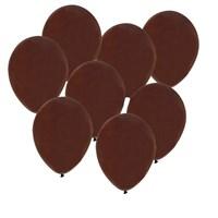Pandoli 100 Adet Kahverengi Metalik Düz Renk Sedefli Latex Balon