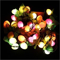 Pandoli 30 Ampüllü Çiçekli Top Şeklinde Parti Işığı Karışık Renk 3 Metre