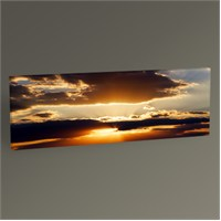 Tablo 360 Sunset Panaroma Tablo 60X20