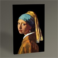 Tablo 360 Jan Vermeer İnci Küpeli Kız Tablo 45X30