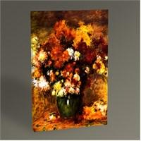 Tablo 360 Pierre Auguste Renoir Bouquet Of Chrysanthemums Tablo 45X30
