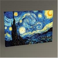 Tablo 360 Vincent Van Gogh-Yıldızlı Gece Tablo 45X30