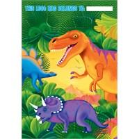 Parti Paketi Dinozor Partisi Hediye Poşeti