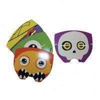 Parti Paketi Boo Monsters Maskeleri 4'Lü