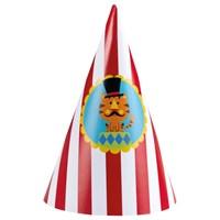 Parti Paketi Sirk Teması Fisher Price Parti Şapkası 8'Li