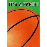 Parti Paketi Basketbol Davetiye