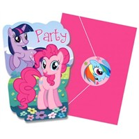 Parti Paketi My Little Pony And Friends Davetiye