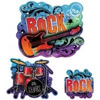 Parti Paketi Rock Star Duvar Dekor Kiti