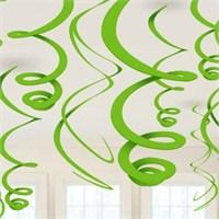 Parti Paketi Kivi Yeşili Süs Dalgaları