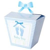 Parti Paketi Bebeğim Mavi Hediye Kutusu 24'Lü
