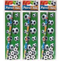 Parti Paketi Futbol Kalem Seti