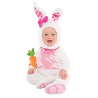 Parti Paketi Sevimli Tavşan Kostümü 12-18 Ay