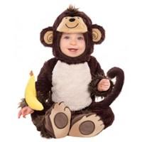 Parti Paketi Sevimli Maymun Kostümü 12-18 Ay