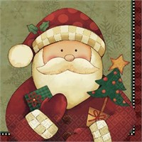 Parti Paketi Noel Baba Peçete