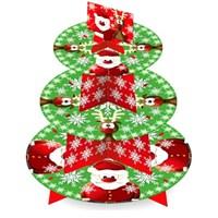 Parti Paketi Noel Baba Cupcake Standı