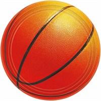 Parti Paketi Basketbol Partisi Açık Büfe Tabağı 8'Li