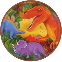Parti Paketi Dinozor Partisi Büyük Tabak 8'Li