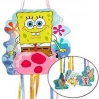 Parti Paketi Sponge Bob İp Çekme Pinyata Oyunu
