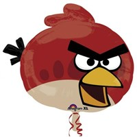 Parti Paketi Angry Birds Red Supershape Folyo Balon