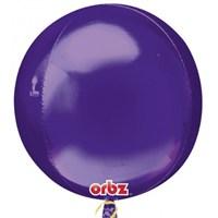 Parti Paketi Mor Küre Folyo Balon