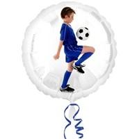 Parti Paketi Futbolcu Ambalajsız Folyo Balon