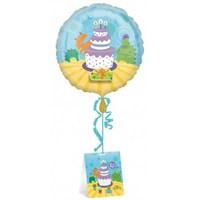 Parti Paketi Doğumgünü Pastası Dekor Yarat Folyo Balon