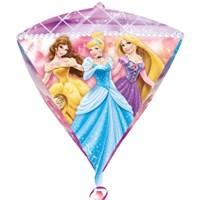 Parti Paketi Disney Prensesler Diamond Folyo Balon