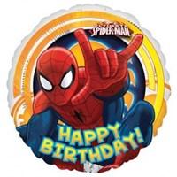 Parti Paketi Spiderman Birthday Folyo Balon