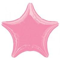 Parti Paketi Pembe Yıldız Folyo Balon