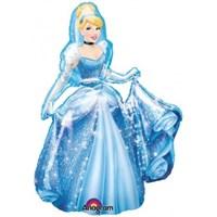 Parti Paketi CinderellaAirwalker Folyo Balon