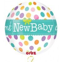 Parti Paketi New Baby Küre Folyo Balon