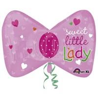 Parti Paketi Küçük Prenses Fiyonku Super Shape Folyo Balon