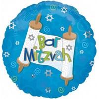 Parti Paketi Bar Mitzvah Folyo Balon