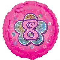 Parti Paketi 8 Yıldızlı PembeFolyo Balon