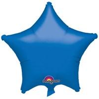 Parti Paketi Mavi Yıldız Folyo Balon