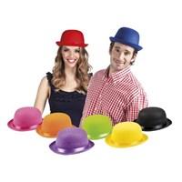 Parti Paketi Melon Şapka Renkli Keçe