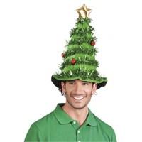 Parti Paketi Yılbaşı Ağacı Şapka